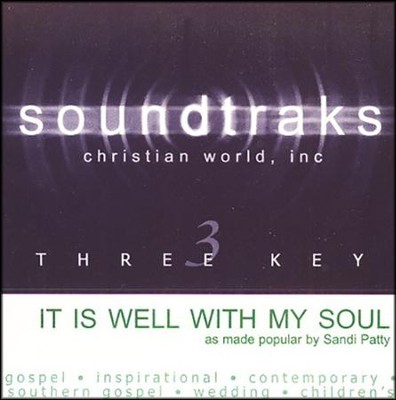 It Is Well With My Soul, Acc CD   -     By: Sandi Patty