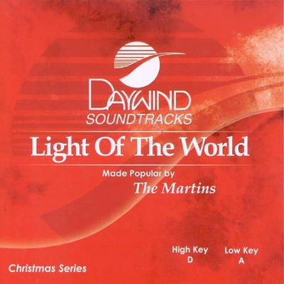Light of the World, Accompaniment CD   -     By: The Martins