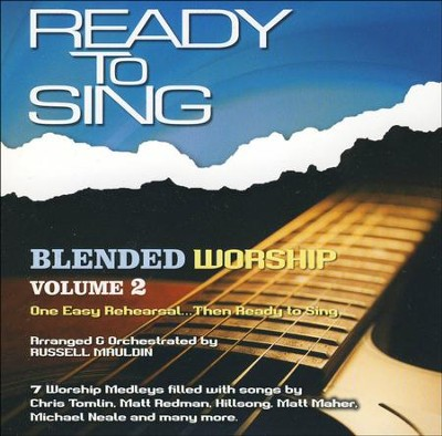Ready to Sing Blended Worship, Volume 2 - Listening CD   -     By: Russell Mauldin