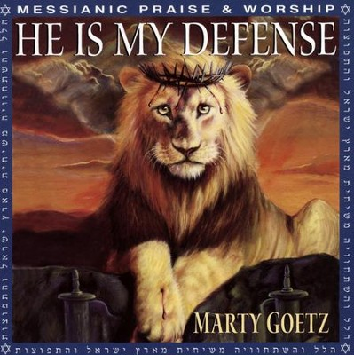 He Is My Defense, Compact Disc [CD]   -     By: Marty Goetz