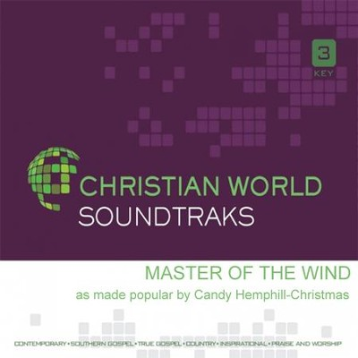 Master of the Wind, Acc CD   -     By: Candy Hemphill-Christmas