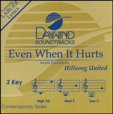 Even When It Hurts, Acc CD   -     By: Hillsong UNITED