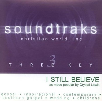 I Still Believe, Accompaniment CD   -     By: Crystal Lewis