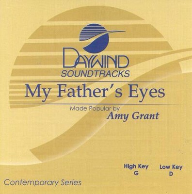 My Father's Eyes, Acc CD   -     By: Amy Grant