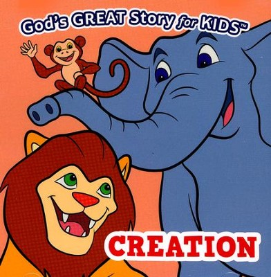 God's Great Story for Kids: Creation CD   -     By: Janet McMahon, David McMahon