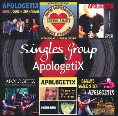 Singles Group CD   -     By: ApologetiX