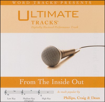 From The Inside Out (Medium Key Performance Track w/ Background Vocals)  [Music Download] -