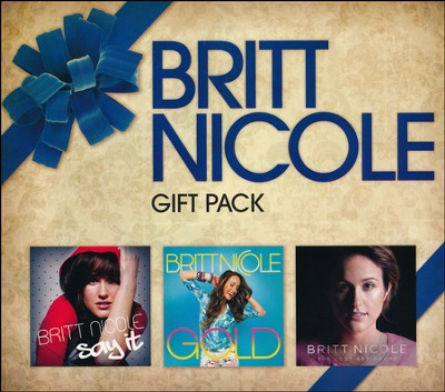Christmas Gift Pack- 3 CDs   -     By: Britt Nicole