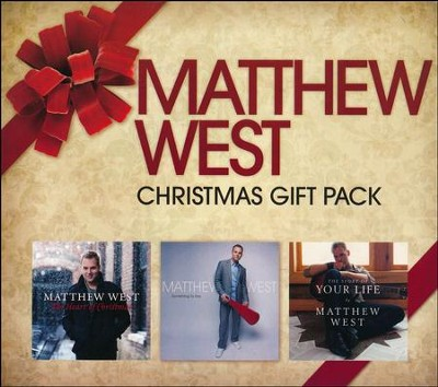Christmas Gift Pack- 3 CDs   -     By: Matthew West