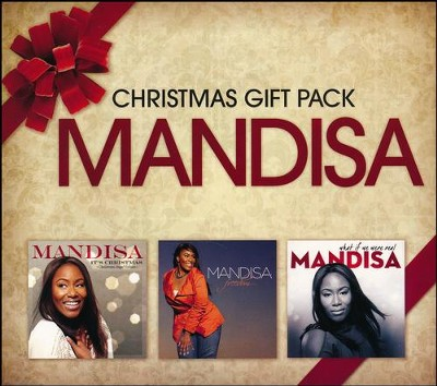 Christmas Gift Pack- 3 CDs   -     By: Mandisa