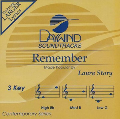 Remember Acc, CD  -     By: Laura Story
