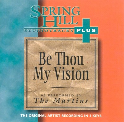 Be Thou My Vision, Accompaniment CD   -     By: The Martins