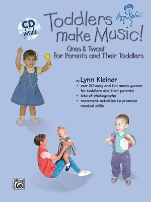 Kids Make Music Series: Toddlers Make Music! Ones & Twos! (for Parents and Their Toddlers) Audio CD  -     By: Lynn Kleiner