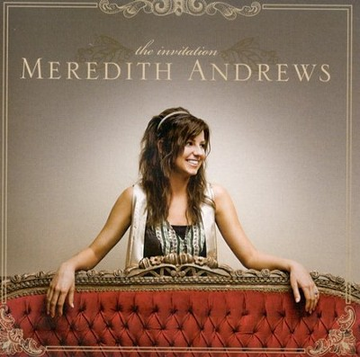 The Invitation CD   -     By: Meredith Andrews
