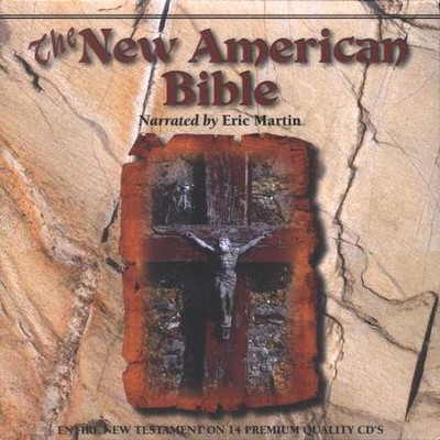 New American Bible (NAB), Audio Bible New Testament on CD   -     Narrated By: Eric Martin     By: Narrated by Eric Martin