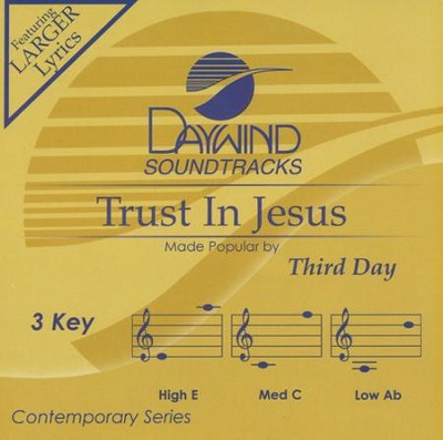 Trust In Jesus, Acc CD   -     By: Third Day