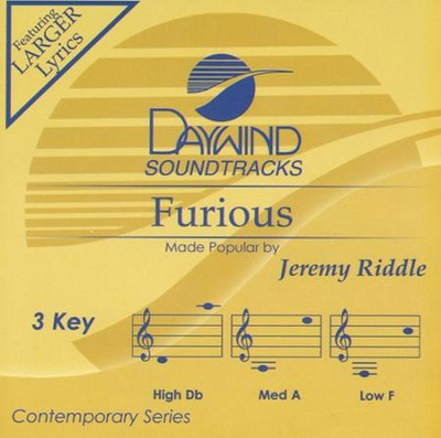 Furious, Acc CD   -     By: Jeremy Riddle