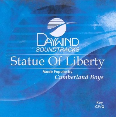 Statue of Liberty, Accompaniment CD   -     By: The Cumberland Boys