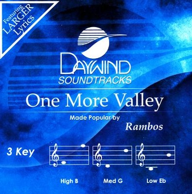 One More Valley, Acc CD   -     By: The Rambos