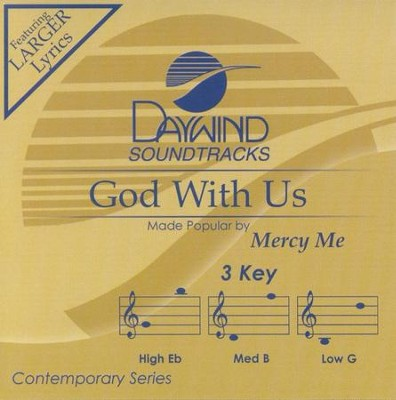 God With Us, Acc CD   -     By: MercyMe