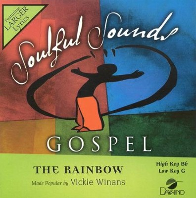 The Rainbow, Accompaniment CD   -     By: Vickie Winans