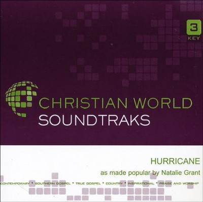 Hurricane Acc, CD  -     By: Natalie Grant