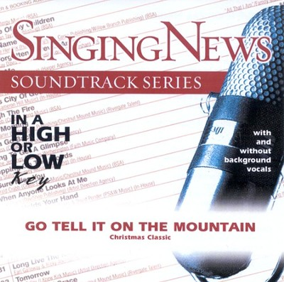 Go Tell It On The Mountain, Accompaniment CD   -