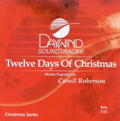 Twelve Days of Christmas, Accompaniment CD   -     By: Christmas