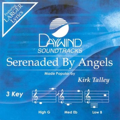 Serenaded by Angels, Acc CD   -     By: Kirk Talley