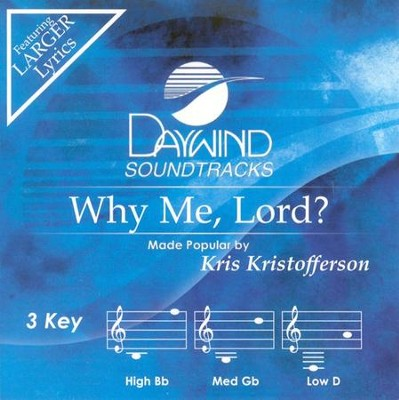 Why Me, Lord? Acc CD   -     By: Kris Kristofferson