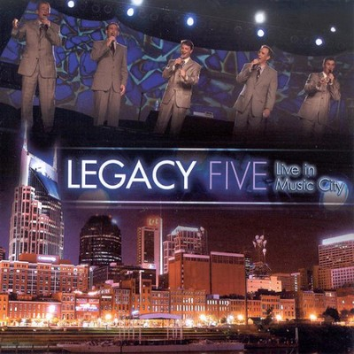 Live In Music City CD   -     By: Legacy Five
