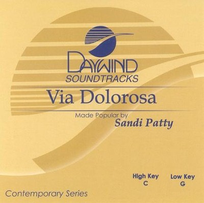 Via Dolorosa, Acc CD   -     By: Sandi Patty