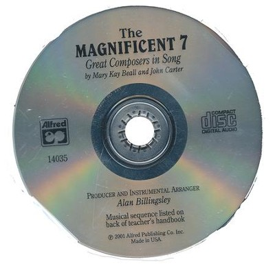 Magnificent Seven Audio CD  -     By: Mary Kay Beall, John Carter