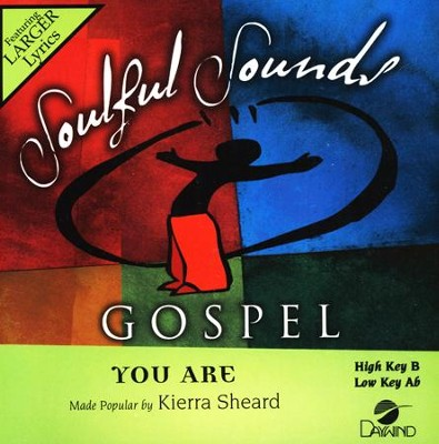 You Are, Acc CD    -     By: Kierra Sheard