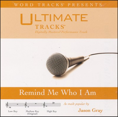 Remind Me Who I Am (High Key Performance Track With Background Vocals)  [Music Download] -