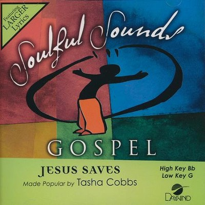 Jesus Saves, Acc CD   -     By: Tasha Cobbs