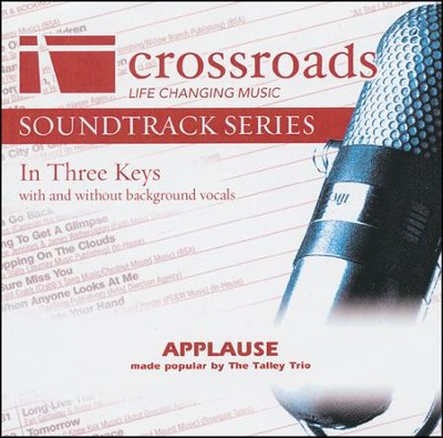 Applause Acc, CD  -     By: The Talley Trio