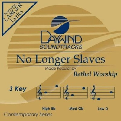 No Longer Slaves, Acc CD   -     By: Bethel Worship