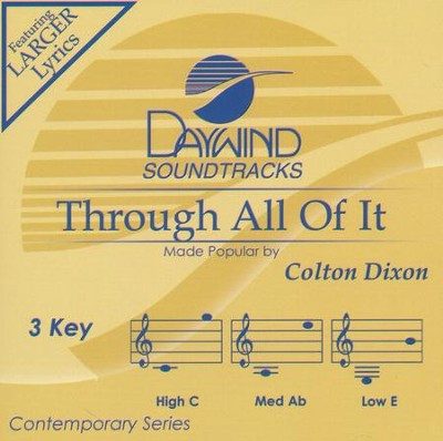 Through All of It, Acc CD   -     By: Colton Dixon