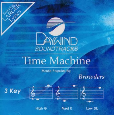 Time Machine, Acc CD   -     By: The Browders
