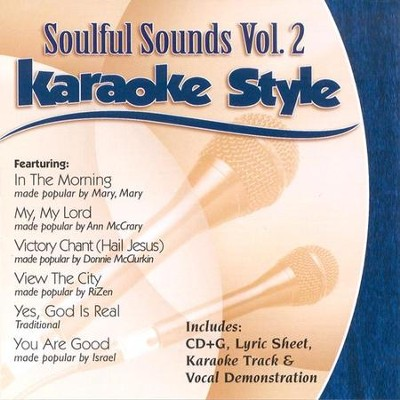 Soulful Sounds, Volume 2, Karaoke Style CD   -