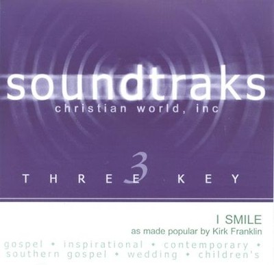 I Smile, Accompaniment CD   -     By: Kirk Franklin