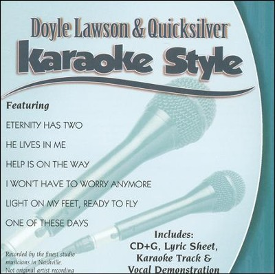 Doyle Lawson & Quicksilver, Karaoke CD   -