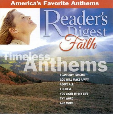 Reader's Digest Faith Series: Timeless Anthems, Compact Disc [CD]   -