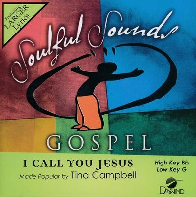 I Call You Jesus, Acc CD   -     By: Tina Campbell