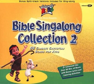 Cedarmont Kids: Bible Singalong Collection 2   -     By: Cedarmont Kids
