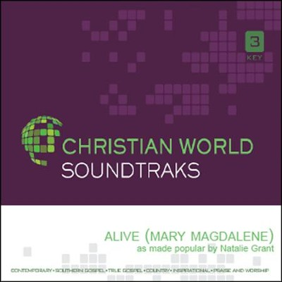 Alive (Mary Magdalene), Accompaniment CD   -     By: Natalie Grant