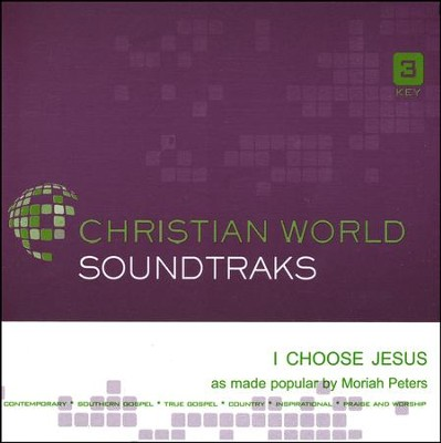 I Choose Jesus Acc, CD  -     By: Moriah Peters