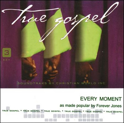 Every Moment Acc, CD  -     By: Forever Jones