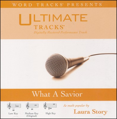 What A Savior (Low Key Performance Track With Background Vocals)  [Music Download] -